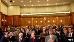 Sednica Skupštine Kosova, 4. januar 2008.