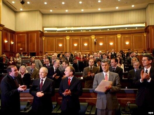 Arhivska fotografija, kosovski parlament