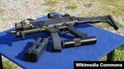 Чешский пистолет-пулемет Cz Scorpion EVO 3 A1.