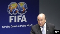 Президент Международной Федерации футбола Зепп Блаттер