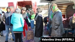 La piața din Hâncești, sâmbătă, 21 martie 2020