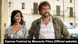 Spanish actress Penelope Cruz (left) and Spanish actor Javier Bardem in a scene from Iranian director Asghar Farhadi's latest film Everybody Knows.