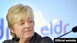 Председатель Европейской либерально-демократической и реформистской партии партии Аннеми Нейтс-Уйттеброк