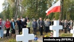 Ушанаваньне памяці абаронцаў Горадні на могілках у Сапоцкіне