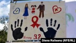Campanie în sprijinul persoanelor infectate cu HIV