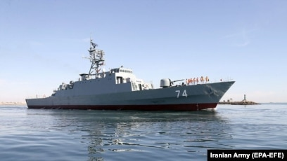 Iranian warships crossing the Atlantic for the first time ever