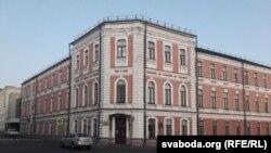 Будынак мэдычнага каледжа ўМагілёве