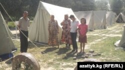 Kyrgyz refugees from the Barak exclave in Uzbekistan stayed in Ak-Tash village after the ethnic violence that spread in southern Kyrgyzstan last year.