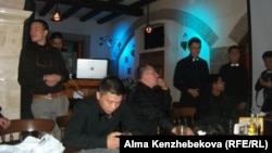 Члены клуба предпринимателей MIB перед началом тренинга. Алматы, 7 августа 2014 года.
