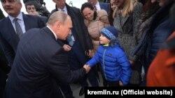 Владимр Путин Кырымда