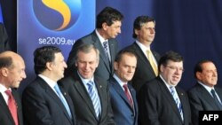 ЕУ лидери
