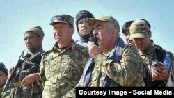 Owganystanyň wise-prezidenti general Raşit Dostum