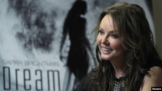 British singer Sarah Brightman