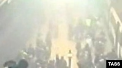 Imagine de la locul exploziei