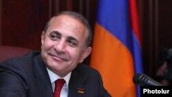 Председатель Национального Собрания Армении Овик Абрамян.