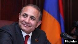 Спикер парламента Армении Овик Абрамян (архивная фотография)