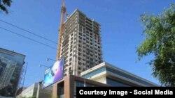 """Эң ири заказдарыбыздын бири """"Бишкек парк"""" комплекси."""