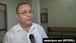 Փաստաբան Տիգրան Հայրապետյանը: