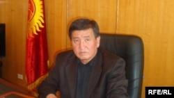 Сооронбай Жээнбеков, Ош облусунун жетекчисинин милдетин аткаруучу.