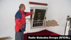 Спомен куќата на Мите Богоевски во селото Болно во околината на Ресен.