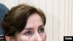 Укук коргоочу Наталья Эстемирова маалымат жыйынында, Грозный, 2007-ж.