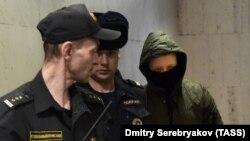 Роман Феофанов в Басманном суде, 30 января 2020 года