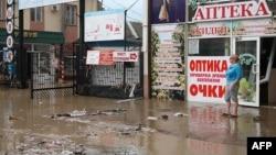 Последствия наводнения в Крымске