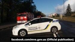 Слідчі столичної поліції кваліфікують подію як підготовка до терористичного акту