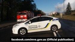 Район происшествия в Киеве, 18 сентября 2019 года.