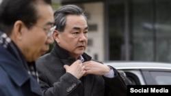 Kryediplomati kinez, Wang Yi
