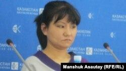 Саясаттанушы, Орталық Азиядағы демократияны дамыту жөніндегі қордың бас директоры Толғанай Үмбетәлиева.