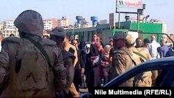 الجيش يحمي معديات بورسعيد (الارشيف)
