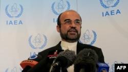 رضا نجفی، نماینده تازه جمهوری اسلامی، در آژانس اتمی