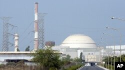 ატომური ელექტროსადგურის რეაქტორი ირანის ქალაქ ბუშერის მახლობლად.