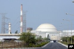An Iranian nuclear power plant in Bushehr (file photo)
