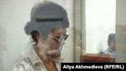 Подсудимая Гульсин Юсупова по делу о мошенничестве. Талдыкорган, 5 августа 2011 года.