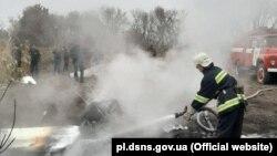 За інформацією служби, вертоліт прямував із Києва