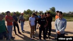 Мигранты из Таджикистана в России