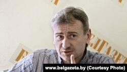 Аляксандр Старычэнка. Фота Вадзіма Заміроўскага. www.belgazeta.by