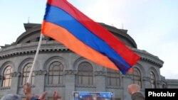 Ermənistan müxalifəti Yerevanda Azadlıq meydanında, 17 mart 2011