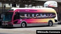 Elektrik avtobus (İllüstrasiya)