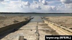 Водозаборный канал из Белогорского водохранилища в Тайганское