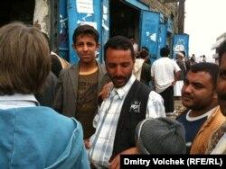 Торговля катом на рынке в Харазских горах
