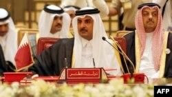 شیخ تمیم بن حمد آل ثانی، امیر قطر.