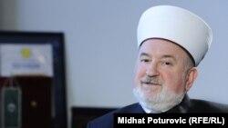 Глава мусульманской общины Боснии и Герцеговины Мустафа Церич