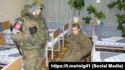 Рамиль Шамсутдинов, задержанный после стрельбы в сослуживцев