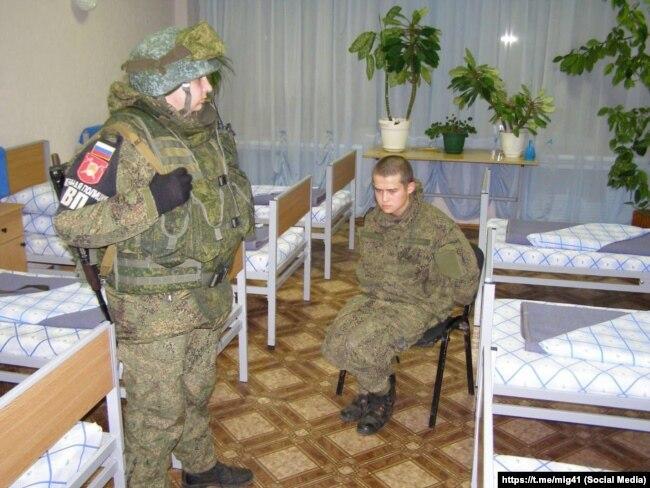 Рамиль Шамсутдинов после задержания