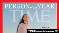 """Greta Thunberg """"İlin adamı"""" seçilib"""