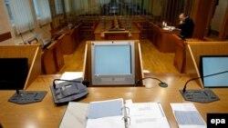 Backović: Izneti predloge do 1. jula (na fotografiji: sudnica, Beograd)