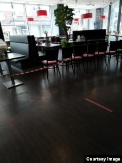 Рестораны не работают в привычном режиме